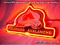 NHL COLORADO AVALANCHE 3D Beer Bar Neon Light Sign