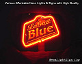 LABATT BLUE 3D Beer Bar Neon Light Sign